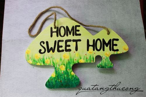 Bảng gỗ Home Sweet Home 2
