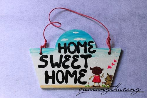Bảng gỗ Home Sweet Home 6