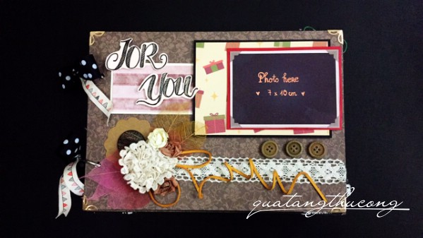 "Scrapbook ""For you"""